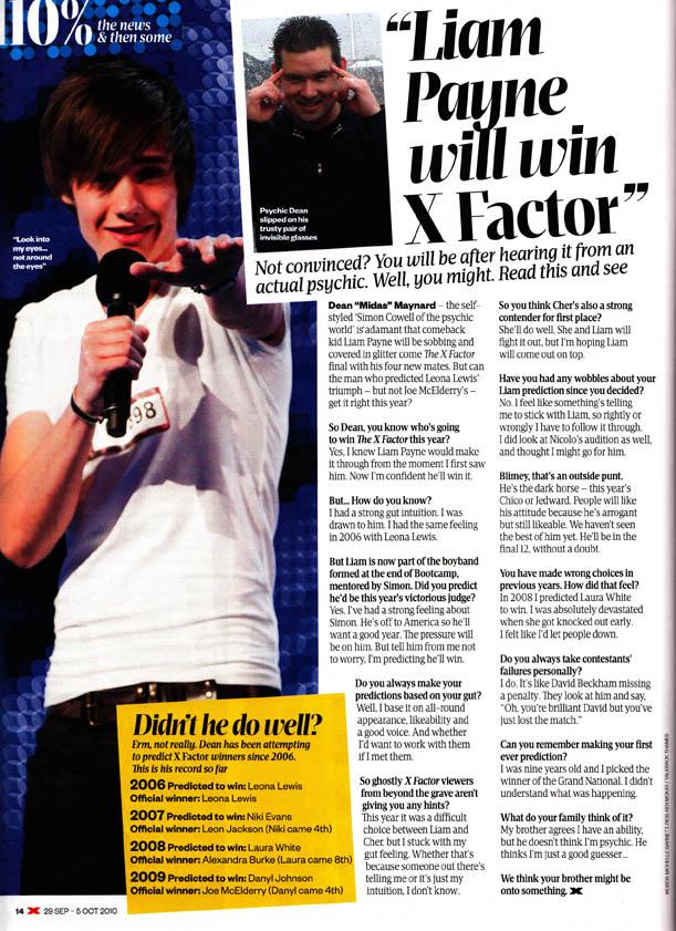 Liam Payne X Factor