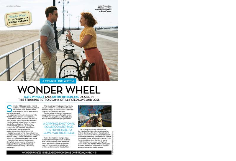 Wonder Wheel advertorial