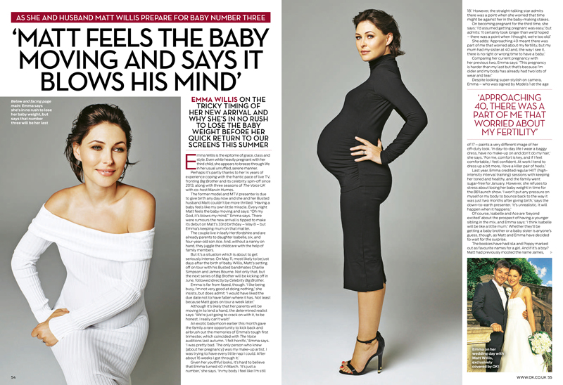 Emma Willis pregnant