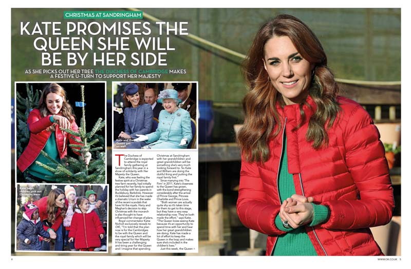 Kate xmas vow to Queen