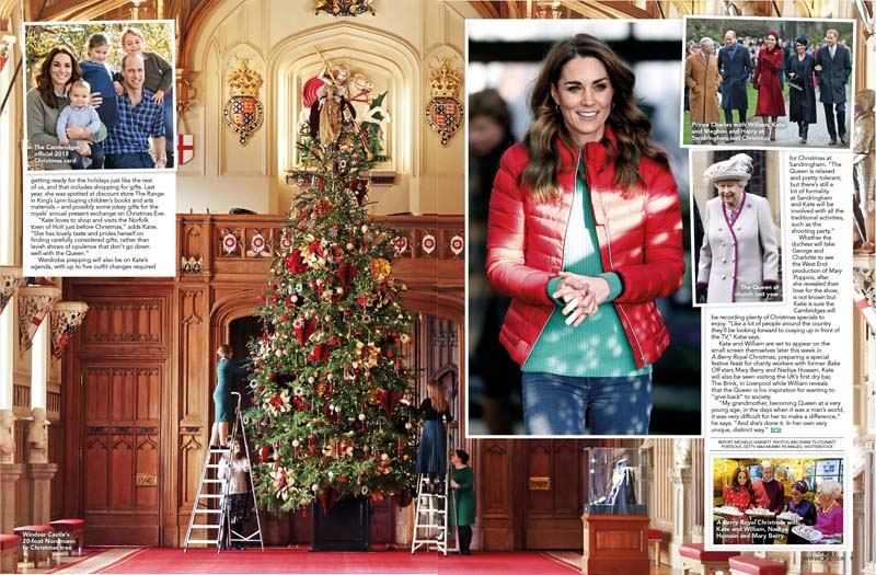 Kate xmas vow to Queen 3