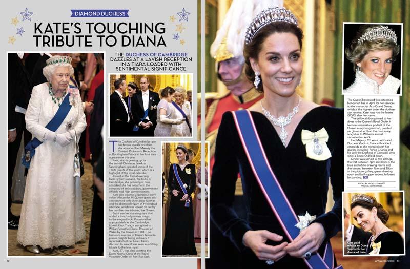 Kate tribute to Diana